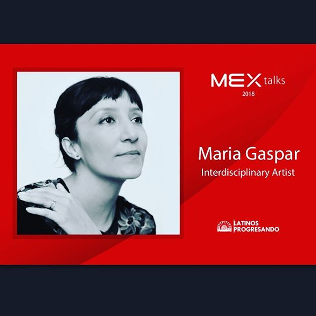 Let's continue following the #RoadtoMEXtalks with our speaker spotlight on Maria Gaspar who is an interdisciplinary artist whose work addresses issues of spatial justice in order to amplify, mobilize, or divert structures of power through individual and collective gestures.  Join her and four other phenomenal speakers at this year's #MEXtalks on September 6th at the Goodman Theatre. Get your tickets today: https://bit.ly/2L2vyFI and make sure you share the amazing news with your friends! [LINK IN BIO]