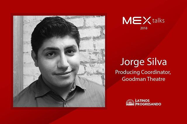 This week, on the #RoadtoMEXtalks, we're shining the [digital] speaker spotlight on Jorge Silva. He is a humorist that specializes in devised works and solo performance and is also a part of the Artistic Staff of the Goodman Theatre serving as the Producing Coordinator.  Join him and four other phenomenal speakers at this year's #MEXtalks on September 6th at the Goodman Theatre. Get your tickets today [LINK IN BIO] and make sure you share the amazing news with your friends!