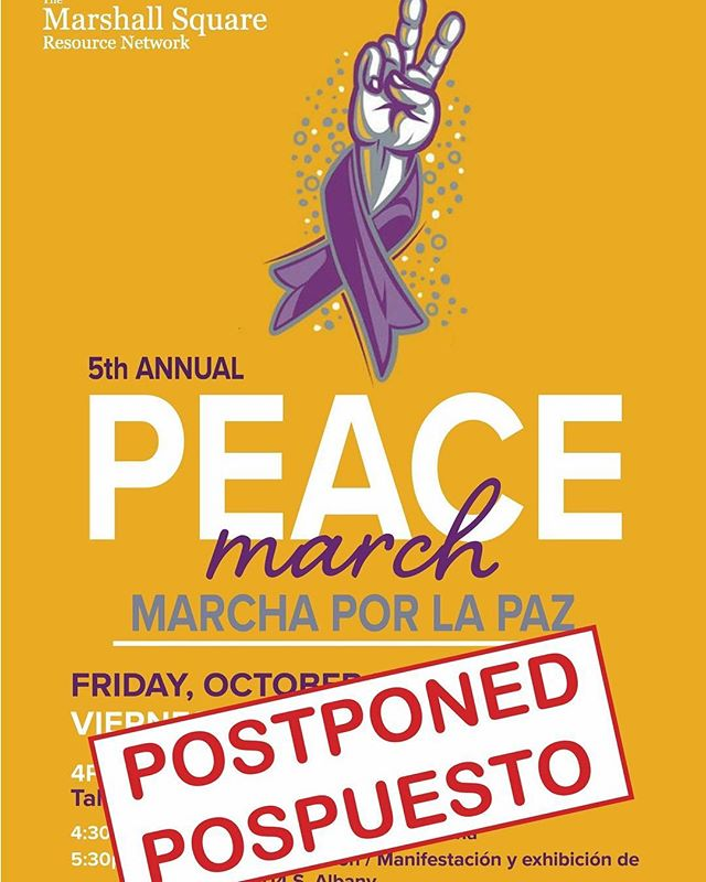 In light of the verdict from the Van Dyke trial, the Marshall Square Resource Network has elected to postpone the 5th Annual Peace March. Please stay tuned for the new date and details. To all of Chicago, be safe and take care of each other. –  A la luz del veredicto del juicio de Van Dyke, la Red de Recursos de Marshall Square eligió posponer la 5ta Marcha anual por la Paz. Anunciaremos nueva fecha y detalles muy pronto. A todo Chicago, usen precaución y cuidense uno al otro.