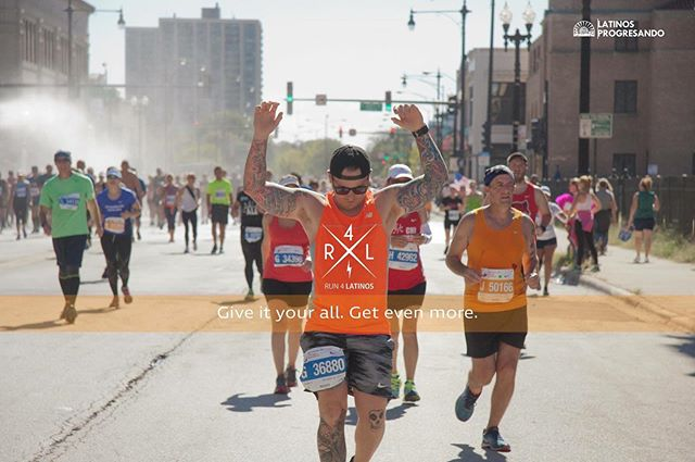 Give it your all, get even more with #TeamLatinos. Tomorrow, 11/28 is the LAST DAY to apply and receive a guaranteed entry to the Bank of America Chicago Marathon before the fundraising commitment increases by $500. Join the team: latinospro.org/runforlatinos #GivingTuesday #Run4Latinos #ChiMarathon
