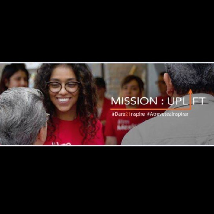 We're in the final 5 days of our Mission:Uplift campaign. Dare to inspire today by visiting: latinospro.org/donate. ~~ When you give to LP, you're giving back to YOUR community. Whether it's a senior fulfilling her dream of becoming a US citizen, a new, young voice on stage at our MEX talks event or in a Teatro Americano production, or a woman gaining independence from an abusive partner, each day Latinos Progresando opens the door to new possibilities.  #Dare21nspire #AtreveteaInspirar