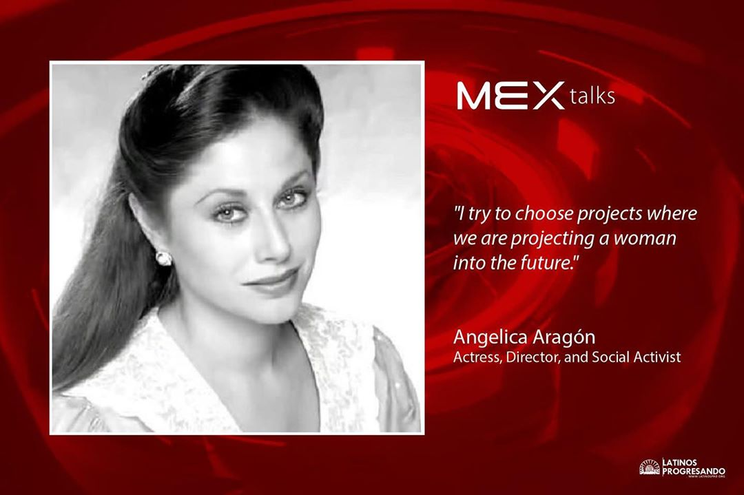 Today, we're giving the speaker spotlight to this year's #MEXtalks headliner, the iconic Angelica Aragón. Angelica has worked extensively in radio, television, theatre and film for forty years. Her leading roles in twenty five soap operas have awarded her a special place in the hearts of the audience around the world, pushing the boundaries of commercial TV into the realms of political correctness and gender equality. – Tickets are sold out, but you can tune in to Facebook Live on Thursday, 9/12 to watch her grace the stage at 6PM at Venue SIX10.