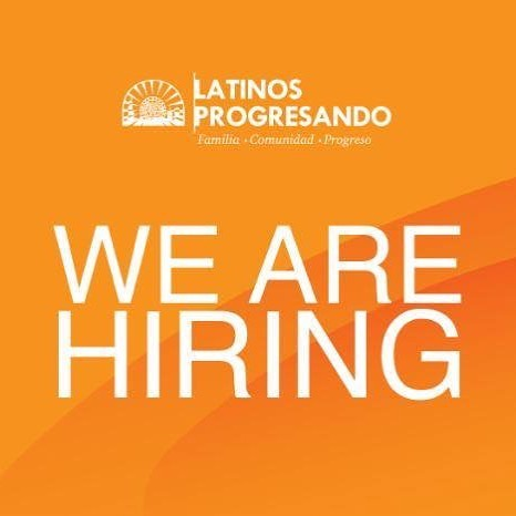Latinos Progresando is looking for a talented, motivated individual to join our growing team. We're currently hiring a Youth Engagement Coordinator. Visit our website for more details: https://latinospro.org/position/youth-engagement-coordinator/