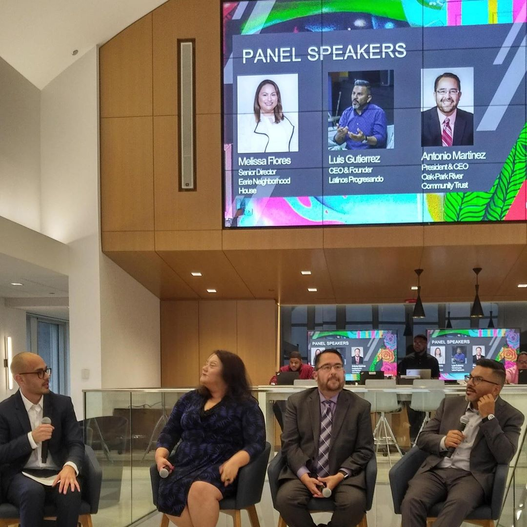 Special thank you to @cushwake for having LP's Founder and CEO, Luis Gutierrez, be a part of their panel to celebrate the close of Hispanic Heritage Month, launch their Hispanic & Latinx Advancement group (HOLA) group and encourage civic engagement.