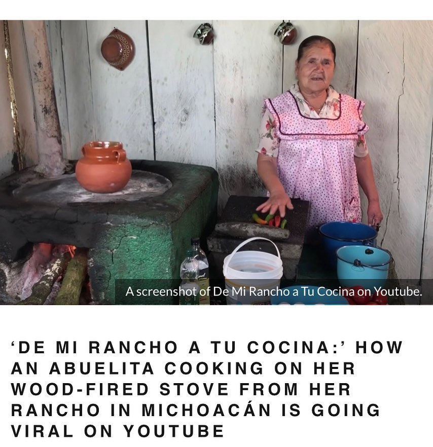 """""""'It offers those Coco-esque warm and fuzzy abuela vibes that resonate hard if you come from a family that has roots in Mexican ranchos, those places in rural Mexico that are often associated with nostalgia, simpler times, and humility."""" #MEXtalksMonday . . . LINK IN BIO."""