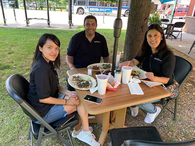 Stop by Los Corrales to enjoy a delicious meal on their newly-opened outdoor patio. Latinos Progresando was pleased to work with you and @aldermangeorgeacardenas Office to make outdoor seating available and offer our community a safe way to eat with their families.